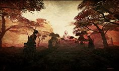 Capture from Fantasy China Dynasty Land Lightbox, Second Life, Landing, Landscapes, China, Fantasy, Pictures, Art, Paisajes