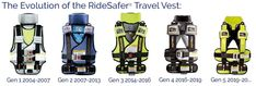 RideSafer Delight vest is a revolutionary, wearable child restraint for children 3 years and up; easy, safe, convenient and legal! Travel Car Seat, Kids Backpacks, 4 Kids, Travel With Kids, Car Seats, Vest, Ideas, Child, Thoughts