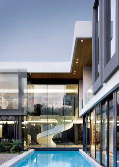 A WOW modern home design! #architecture