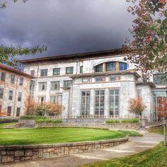 Emory University School of Medicine on a November day. #emory #atlanta #medschool