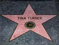 Today in 1986, Tina Turner's star was revealed on the Hollywood Walk of Fame!