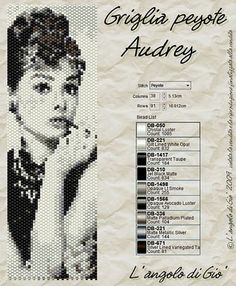 Serously loving this - Audrey is the queen of everything!