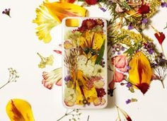 DIY Pressed Flower iPhone Case on Etsy