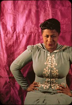 Ella Fitzgerald by Carl Van Vechten. I think she was around 23 yrs old in this picture. http://lascasartoris.tumblr.com/post/14342218945/ella-fitzgerald-aged-23-by-carl-van-vechten