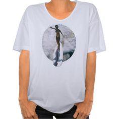 Surf de femme de tee - shirt t-shirt