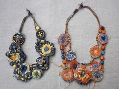 handmade necklaces by rRradionica