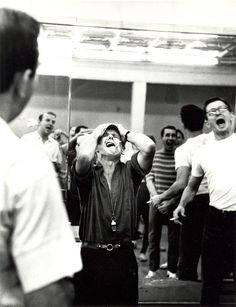 Bob Fosse rehearsing