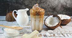 How to Make Whipped Coffee [aka Dalgona Coffee] Honey Coffee, Coconut Oil Coffee, Egg Coffee, Coffee Jelly, Coffee Cup, Chocolate Powder, Chocolate Syrup, Coffee Drink Recipes, Coffee Drinks