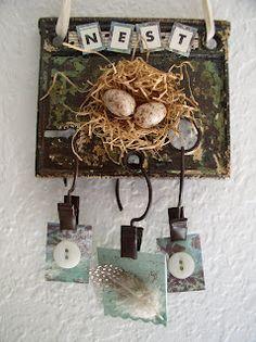 nest assemblage -- Becky J's Nest
