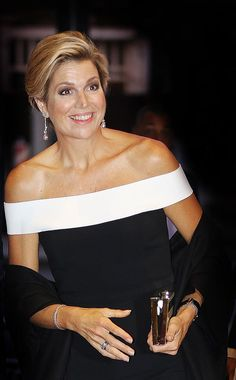 Queen Maxima attended the opening of the new season of the Concertgebouw orchestra in Amsterdam