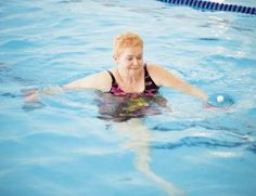 Walking across your pool gives you an effective aerobic workout.