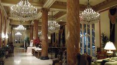 (̏◕◊◕)̋ Le Pavillion Hotel interior New Orleans 2010 A.Romig
