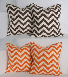 Four Fall Season Decorative Throw Pillow Covers for by skoopehome, $70.00