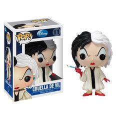 Disney Pop! Vinyl Figure Cruella De Vil [101 Dalmatians] - Funko Pop! Vinyl - Category