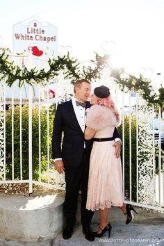 Little White Chapel Las Vegas wedding