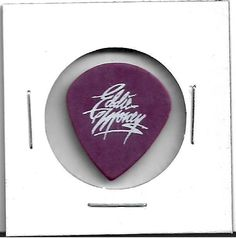 2-SigGuitar Picks Eddie Money Bobby D & .38 Special Bass Pick w/special forces