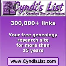 "Cyndi's List - the ""card catalog"" of genealogy sites on the Internet"