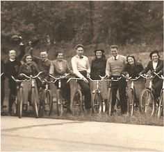 Super Neat ANTIQUE BICYCLE PHOTO  big group of by vintagewarehouse, $3.50