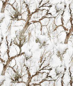 "Springs Creative True Timber MC2 Snow Cotton Fabric - $5.90 | 100% Cotton | Width: 44"" | onlinefabricstore.net"