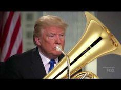 Someone has superimposed a massive tuba onto Donald Trump and it's surprisingly convincing - Classic FM