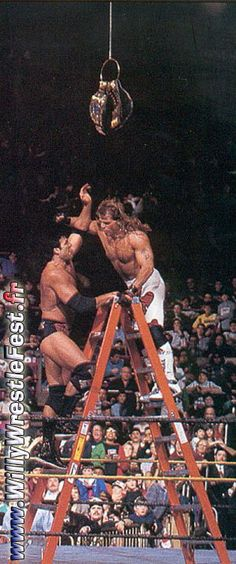 Shawn Michaels vs. Scott Hall - the best wrestling match of all time