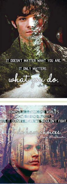 It doesn't matter what you are.. It matters what you do.