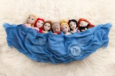 Newborn Disney Princess - Sleeping Beauty and Friends ©nikki criniti photography