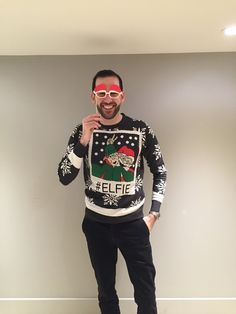 Head of Lettings, Simon Jackson, on Christmas Jumper Day from our Bow Office!