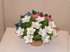 Мастер-класс Оригами МК Цветы Бумага фото 1