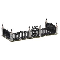 SKU 04713 - Released in 2020 as a Table Accessory for the Spooky Town Village Collection. Halloween Village, Michael Store, Table Accessories, Fence Gate, Seasonal Decor, A Table, Type, Create, Birthday