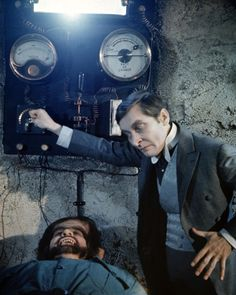 Tom Clegg and Kenneth Williams in Carry On Screaming. 1966