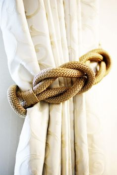 ** Curtain Tie Back