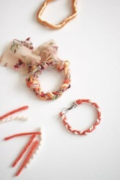 Friendship bracelets you can quickly assemble with some scrap fabric and yarn you have lying around. | 32 Semi-Homemade Gifts That'll Make Anyone Feel Loved