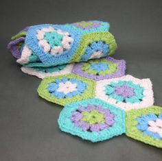 Granny Hexagon Scarf!