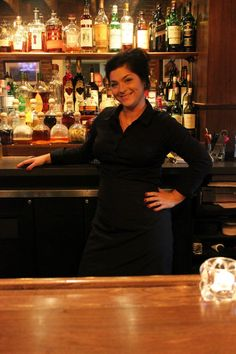 Assistant Manager and Mixologist Rachel Isaacs