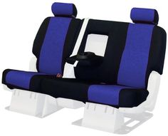 Coverking Custom-Fit Rear Bench Seat Cover - Spacer Mesh, Blue Custom-tailored in the USA for your year, make, model, and option providing a fit many will mistake for original upholstery. Includes everything your seat rows require - headrests, armrests, console covers, map storage pockets. Engineered to accommodate seat controls, integrated airbags, and seat belts. Cool and sporty - Unique fabric'... #Coverking #Automotive_Parts_and_Accessories