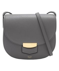 Take a look at this Céline Small Trotteur Shoulder Bag today!