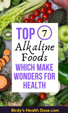 Most of the foods we eat are toxic or acidic foods, with harmful effects on the body. Ideally, we should turn our attention to alkaline foods, with a pH level greater than 7.  The alkaline diet is based on the principle that replacing foods that create acidity in the body improves health.