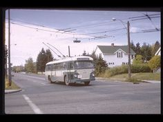 Presenting another Calgary Transit then and now – we hope you do not tire of them. Then: a trolley bus on the South Calgary ( route turns. The Province, Public Transport, Then And Now, Calgary, Paths, Places To Visit, Busses, Monday Night, Ambulance