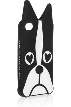 Deck the Halls: 10 Chic Cases to Stylize Your iPhone - @Marc Jacobs Intl Shorty Dog iPhone Case $48