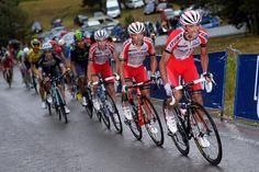Vuelta a España 2014 - Stage 9: Carboneras de Guadazaón - Aramón Valdelinares 185km - Dani Moreno (Katusha) working hard