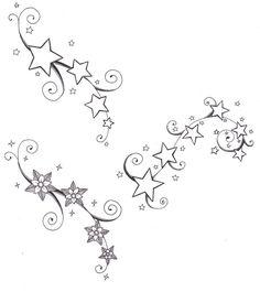 Nautical Star Drawings Tattoos | kent tattoo art: Tattoo Gallery by Gina Ryan Add flower to it!