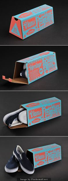 I picked this shoe box for its creative design and bright colors. i also like using that color combination myself. Creative Shoes, Creative Box, Creative Design, Brand Packaging, Box Packaging, Design Packaging, Shoe Box Design, Branding Design, Logo Design