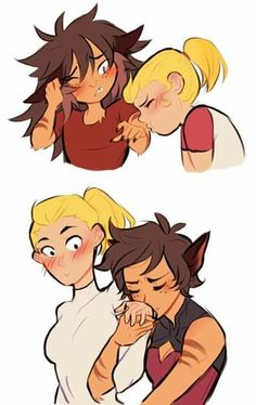 Fille Anime Cool, Best Kisses, Lesbian Art, She Ra Princess Of Power, Owl House, Cartoon Shows, Cute Gay, Character Art, Sketches