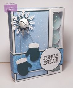 Tutorial of the Month - August 2015 - Christmas Chocolate and Candle Box - Jo Mckelvey - #crafterscompanion
