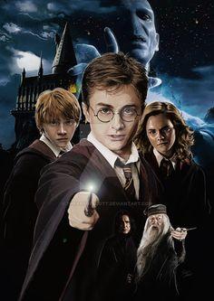 Harry Potter de TheArtofScott