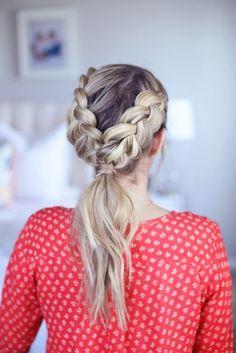 Teenage hairstyles braids 2016