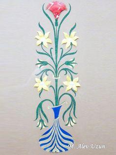 Alev Uzun-Katı' ( İnce Kağıt Oymacılığı )- ( The art of paper cutting ),,