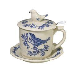 Tea Infuser Mug-Simpson & Vail, Inc