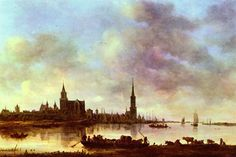 View of Arnhem by Jan Van Goyen